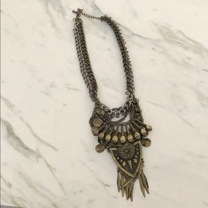 Free People Metal Necklace